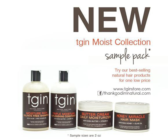 TGIN -- Moist Collection Sample Pack - Afroshoppe.ch