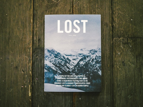 LOST - ISSUE THREE
