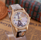 Fashionable vintage women's watch