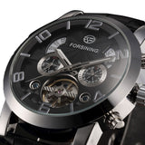 Forsining Automatic Watch for men with Month, Year, Day and Date Function