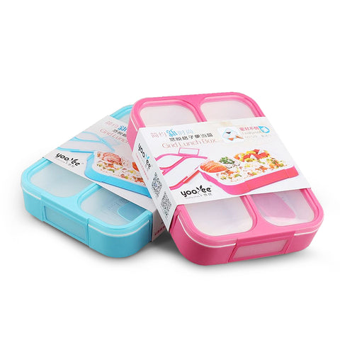 Yooyee Insulated  grid style tiffin box