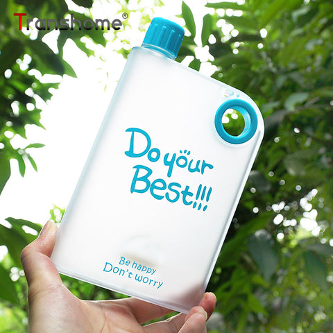 Do your best Notebook style creative water bottle