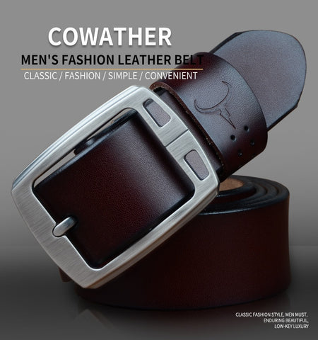 Cowather Branded High quality belt for men