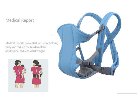 Comfortable baby carriers and infant slings