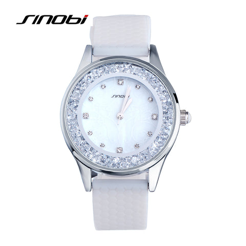 Chic Sinobi watch for women with silicone band