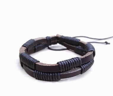 Stylish Leather Bracelets for Men/Women