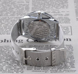 Casual Stainless Steel Mesh Band Wrist watch