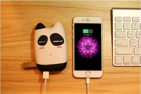 Cute Pocket size 10400 mAH mobile power bank