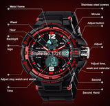 Sanda Digital and Analog wrist watch
