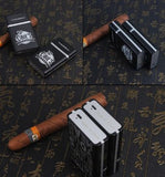 Cigarette Case with Rechargeable Electronic Lighter