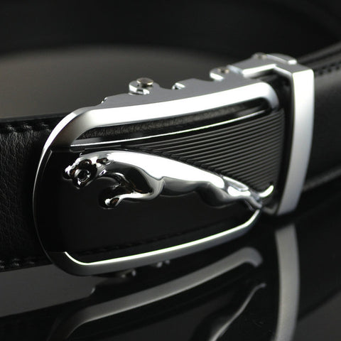 Smart Jaguar buckled formal belt