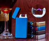 Single arc, flameless, windproof USB lighter