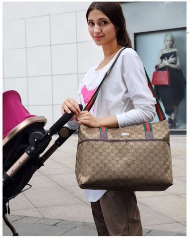 Stylish Large capacity baby diaper bags carrier