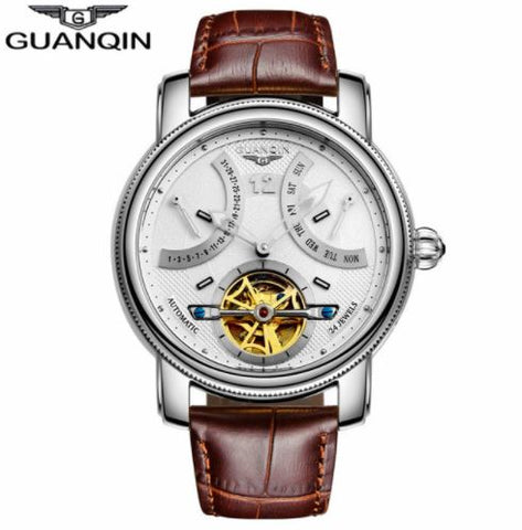 Stylish and Beautiful Guanqin Automatic Watch for men
