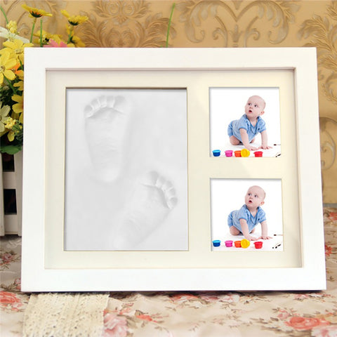 Imprint for life: Handprint/Foot print kit with Frame