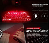 Virtual Laser Keyboard for iPad, Tablet and Desktop PC