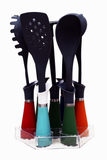 Kitchen tool set with acrylic stand (Set of 8)
