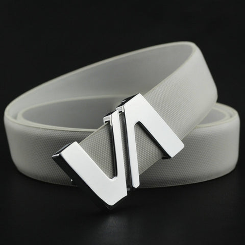 Stylish casual VA buckled belt for men