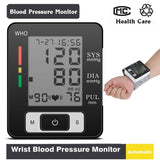 Fully Automatic Wrist Blood Pressure Cuff Monitor
