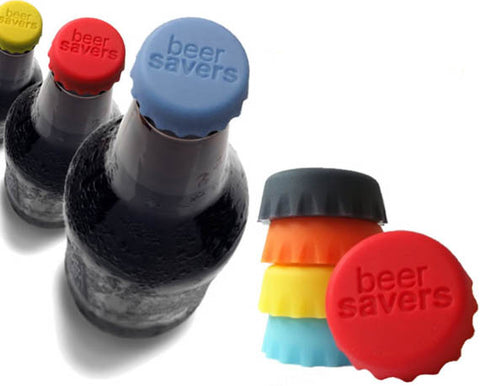 Beer Savers Silicone caps: Keep your soft drink fresh