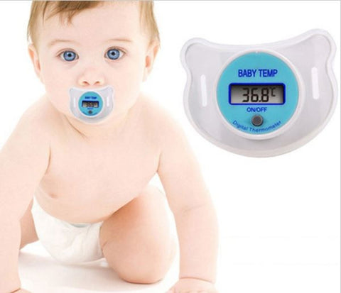 Baby Pacifier cum thermometer