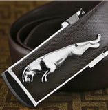 Smart Jaguar buckled belt for formal or casual use