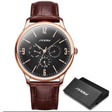 Thin, Sinobi branded luxury wristwatch