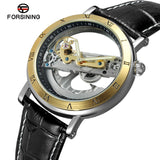 Forsining luxury automatic watch hollow dial
