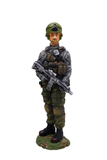 Realistic and Macho Miltary Commando statues