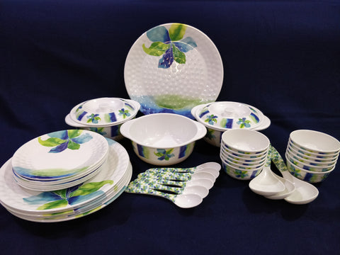 Platinum Melamine 40 pc Crockery Set