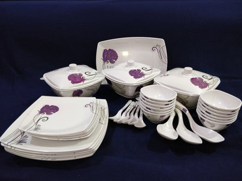 Sharewell Melamine 35+ pc Crockery Set