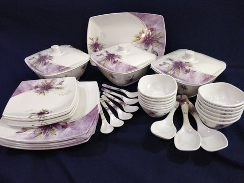Sharewell Melamine 35+ pc Crockery Set - 6008