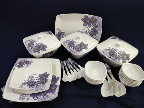Sharewell Melamine 35+ pc Crockery Set - 6017
