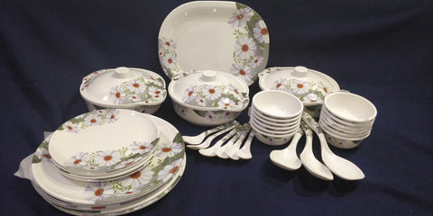 Sharewell Melamine 35+ pc Crockery Set - 7011