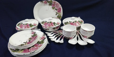 Sharewell Melamine 35+ pc Crockery Set - 7013
