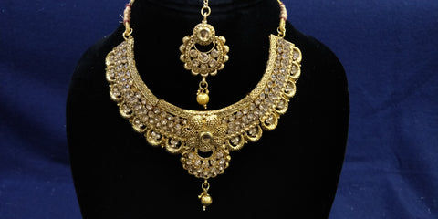 Traditional Half Set Imitation Jewelry by Bijoux Collection