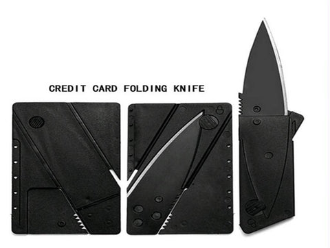 Credit card size utility knife