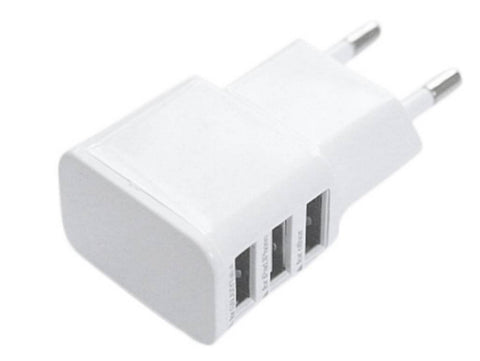 3 port USB wall charger
