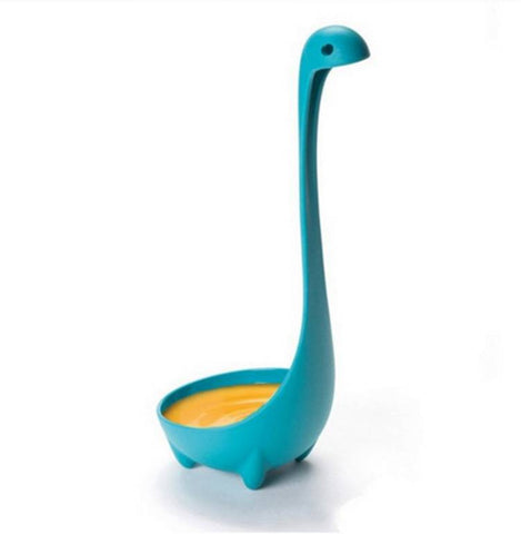 Creative dinosaur shaped long spoon