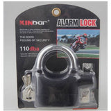 Heavy duty padlock with high decible alarm perfect for home or office