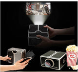 Smartphone projector: Turn your smartphone into bigscreen