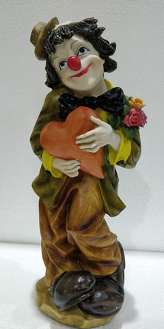 Adorable Joker with heart statue