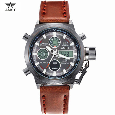Branded casual and formal wristwatch