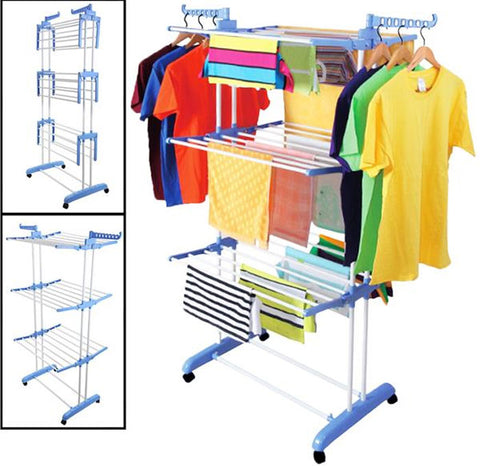 3 Tier Foldable Clothes Drying Rack - DIY