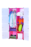 Portable Wardrobe 8-large space cube closet Multi-use Storage Organizer