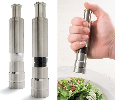 Steel finish Pepper Mill