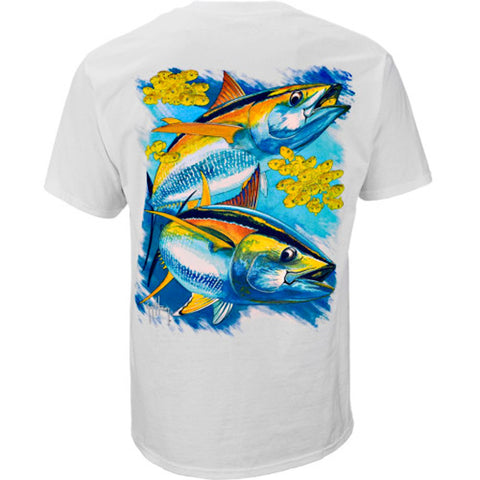 "Guy Harvey T - ""Hot Tuna"" T-Shirts"