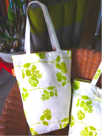 Plumeria Sun - Canvas Tote Bag