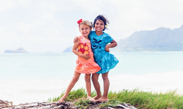 Hawaiian Drift - Kids Dress