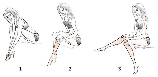 How to put on Stop & Stare tattoo printed tights & pantyhose